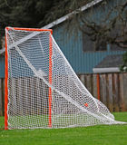 Lacrosse goal scored Stock Images