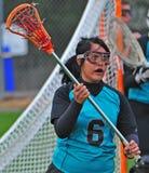 lacrosse gracza bieg Zdjęcia Stock