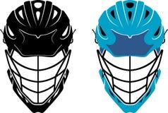 Lacrosse Helmet Front Royalty Free Stock Image