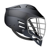 Lacrosse Helmet Side View Stock Images
