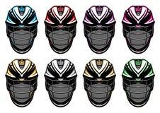 Lacrosse Helmets EPS royalty free stock image