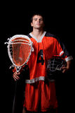 Lacrosse Player Stock Photos