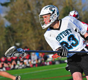 Lacrosse Possesion stock photos