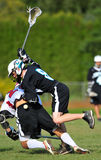 Lacrosse regain control Stock Photos