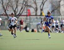 lacrosse rozwolnienia ncaa s kobiety Zdjęcie Royalty Free