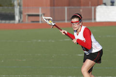 Lacrosse Shooter Royalty Free Stock Photos