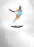 Lacrosse tło Zdjęcia Royalty Free