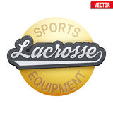 Lacrosse tag with ball Stock Photos