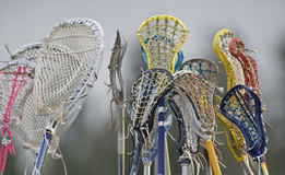 Lacrosse team spirit Stock Image