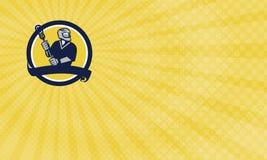 Lacrosse Training Business card Stock Photo