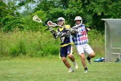 Lacrosse włoszczyzny gra Obraz Stock