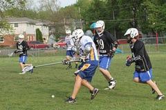 lacrosse wysoka szkoła obrazy stock