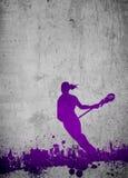 Lacrosseachtergrond Royalty-vrije Stock Afbeeldingen