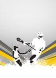 Lacrosseachtergrond Royalty-vrije Stock Afbeelding