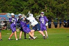 Lacrosseblocker Stockbilder