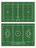 Lacrossefeld Stockfotos