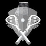 Lacrossehintergrund. Stockfoto
