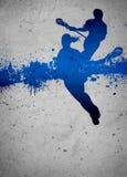 Lacrossehintergrund Lizenzfreies Stockbild