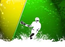 Lacrossehintergrund Lizenzfreies Stockfoto