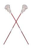 lacrossesticks Royaltyfri Fotografi