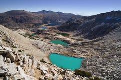 Lacs alpestres Image libre de droits