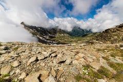 Lacs alpins Photographie stock libre de droits
