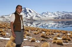 Lacs Altiplano photo stock