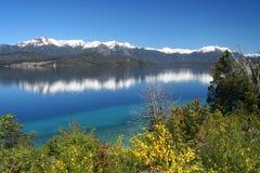 Lacs argentins Image libre de droits