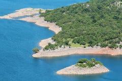 Lacs artificiels dans Niksic, Monténégro Images libres de droits