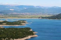 Lacs artificiels dans Niksic, Monténégro Photos stock