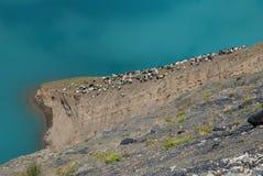 Lacs au Thibet Photographie stock libre de droits