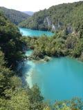 Lacs azurés Photos libres de droits