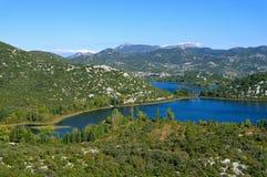 Lacs Bacina Photo libre de droits