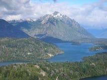 7 lacs, Bariloche, Patagonia, Argentine. Photos libres de droits