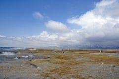 Lacs bleus Photo stock