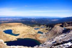 Lacs bulgares de rila Image stock