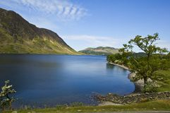 Lacs Buttermere R-U Photographie stock