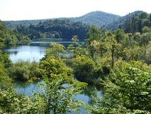Lacs cachés Images libres de droits
