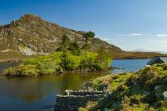 Lacs 2 Cregennen un paysage de Gallois Photos libres de droits