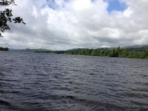 lacs de lac de l'Angleterre de district de cumbria de coniston beaucoup l'eau d'un s Photo stock