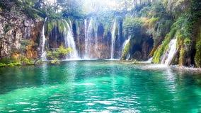 Lacs et cascades Plitvice photographie stock libre de droits