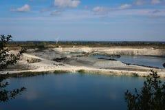 Lacs et chaux Images libres de droits