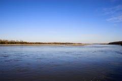 Lacs et fleuves prairie Photos libres de droits