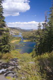 Lacs gigantesques Photographie stock