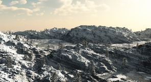 Lacs glacials mountain Photo libre de droits