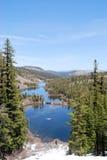 Lacs jumeaux Photographie stock libre de droits