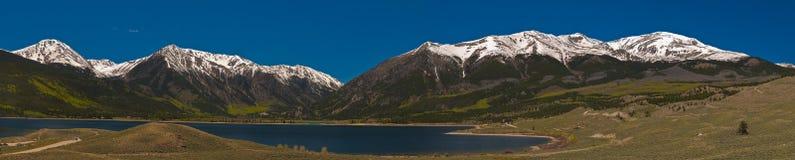 Lacs jumeaux le Colorado Photographie stock libre de droits