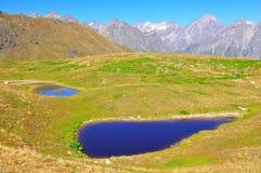 Lacs Koruldi, Svaneti la Géorgie Photo libre de droits
