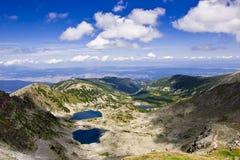 Lacs mountain Photo stock