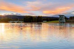 Lacs Penrith, Australie de NSW Photo stock